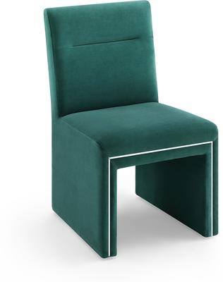 Marlow Velvet Dining Chair Dark Grey or Green image 8
