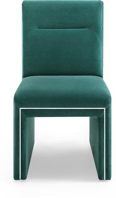 Marlow Velvet Dining Chair Dark Grey or Green image 9