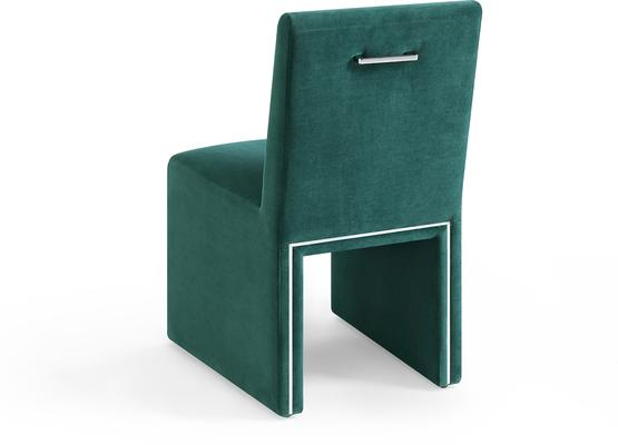 Marlow Velvet Dining Chair Dark Grey or Green image 10