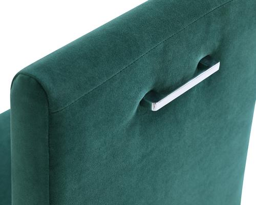 Marlow Velvet Dining Chair Dark Grey or Green image 12