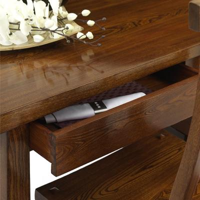 Reclaimed Elm Wood Dining Table image 4