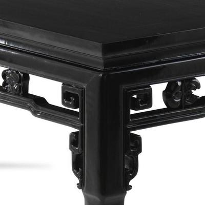 Qing Dining Table, Black Lacquer image 3