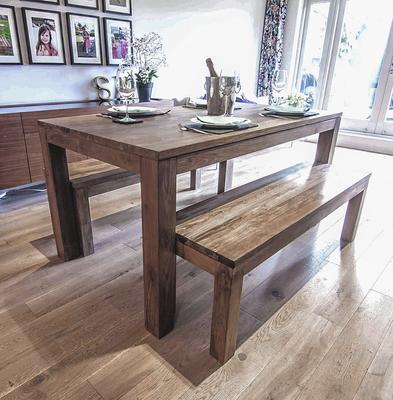 Ekas Reclaimed Wood Dining Table image 3