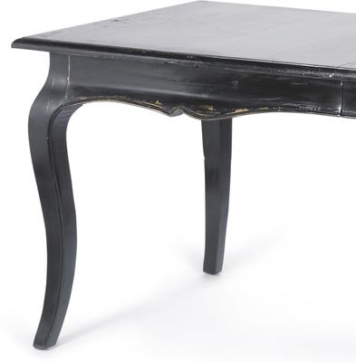 Distressed Dinner Table French-Style Black, White or Cream image 3