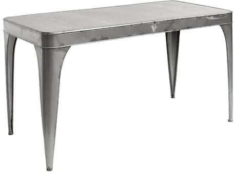 Industrial Metal Dining Table image 2