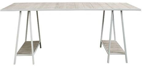 Industrial Trestle Dining Table image 2
