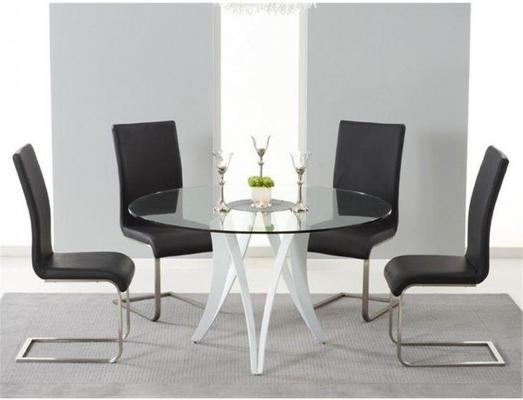 Bellevue round dining table image 2