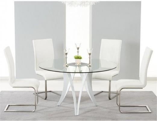 Bellevue round dining table image 3