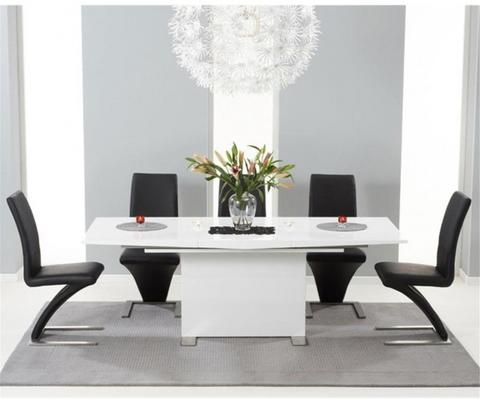 Marila extending dining table image 4