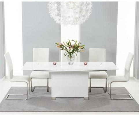 Marila extending dining table image 5
