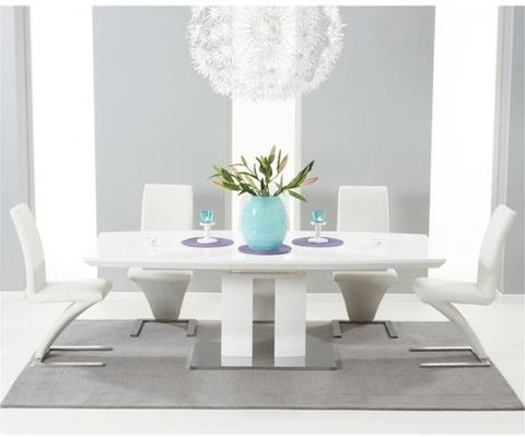 Rossini extending dining table image 4