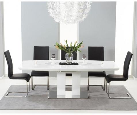 Rossini extending dining table image 5