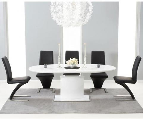 Seville extending dining table image 2