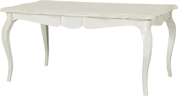 Simple Chic French Dining Table