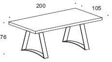 Nightfly dining table and square chairs image 7
