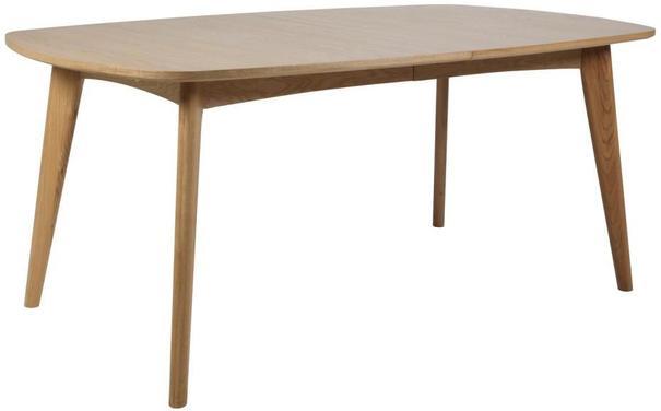 Marte Modern Extending Dining Table Oak image 2