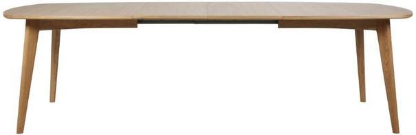 Marte Modern Extending Dining Table Oak image 4