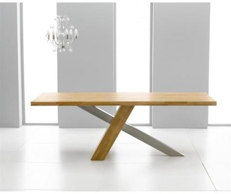 Sarasota oak dining table