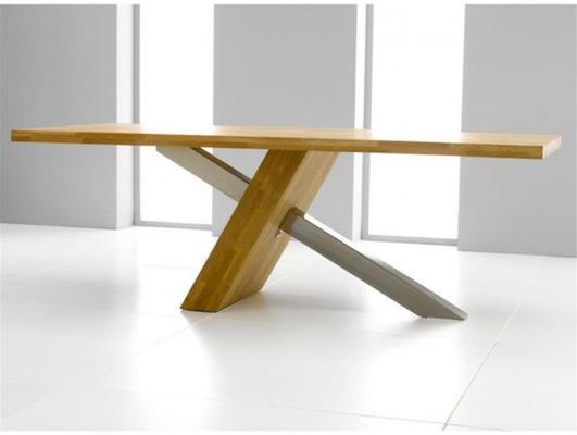 Sarasota oak dining table image 2