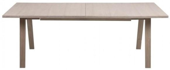 A-line extending dining table