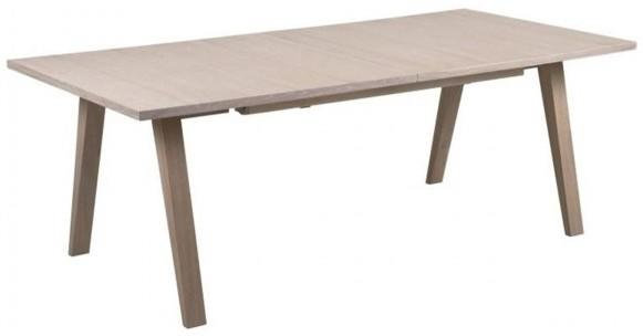 A-line extending dining table image 2