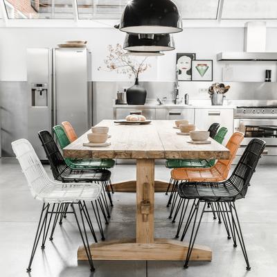 Large Teak Dining Table image 4