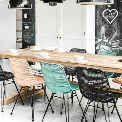 Large Teak Dining Table image 5