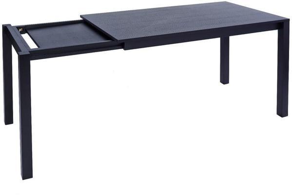 Cordoba Extending Dining Table Black Wenge 140cm - 200cm image 2