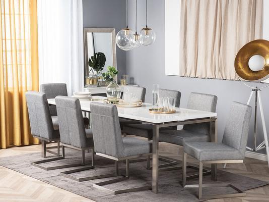 ARCTIC II Dining Table White 180cm x 90cm image 2
