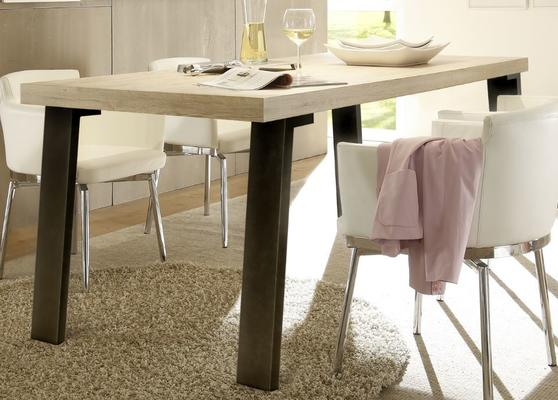Palma Dining Table - Metal Leg