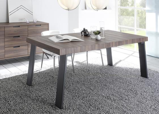Palma Dining Table 165cm - Walnut Finish