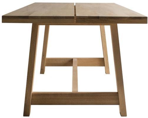 Kielder Oak Rectangular Wood Dining Table image 3