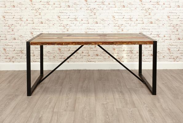 Shoreditch Rustic Dining Table - Large image 5