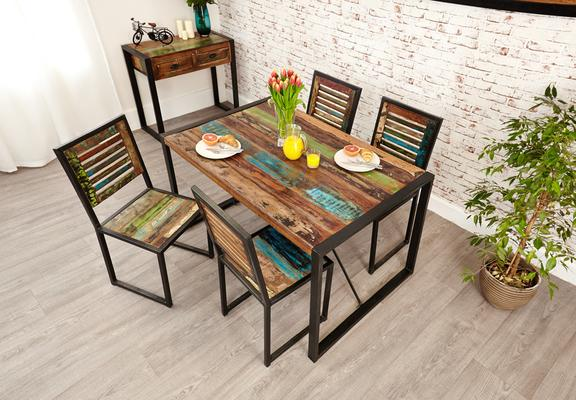 Shoreditch Rustic Dining Table - Small