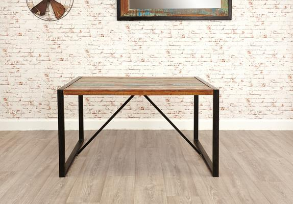 Shoreditch Rustic Dining Table - Small image 5