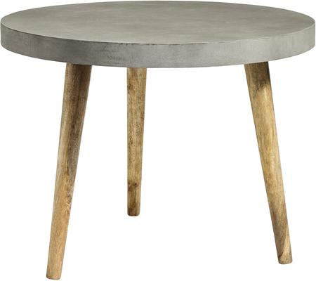 Three Leg Concrete Industrial Dining Table