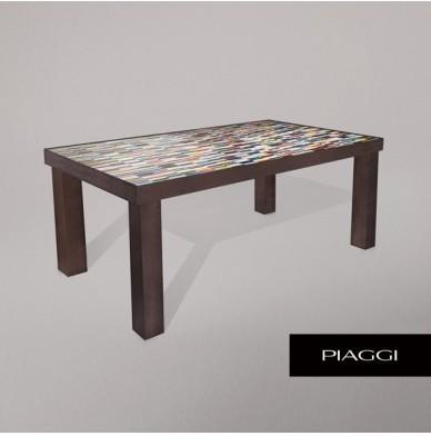 Fortis Sequence Dining Table Glass Mosaic Top image 4
