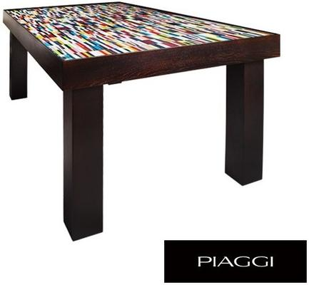 Fortis Sequence Dining Table Glass Mosaic Top image 6