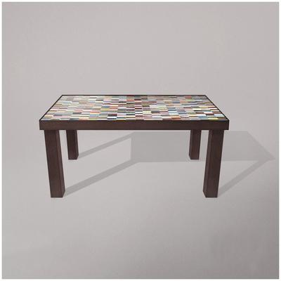 Fortis Sequence Dining Table Glass Mosaic Top