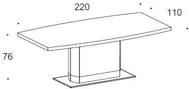 Dune dining table image 2