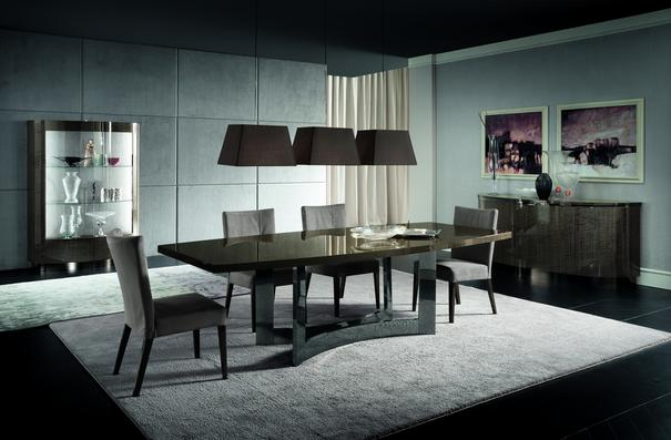 Dune Metallo dining table image 5