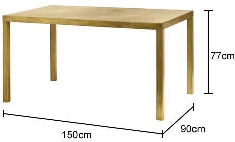 Rectangular Dining Table Scandi-Chic image 2