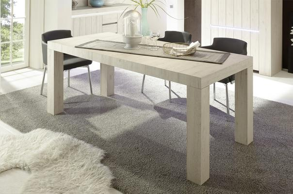 Monza Dining Table - Rose Beige Finish