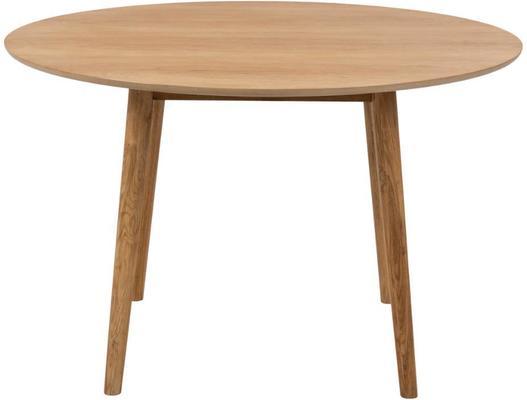 Nagane round dining table image 2
