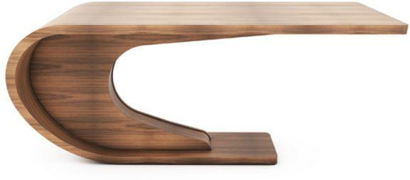 Crest Dining Table Shaped Wood image 4