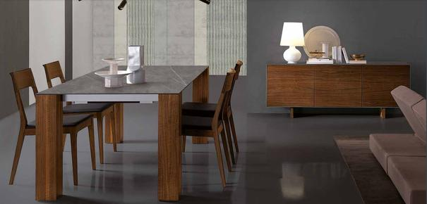 Thin dining table image 3
