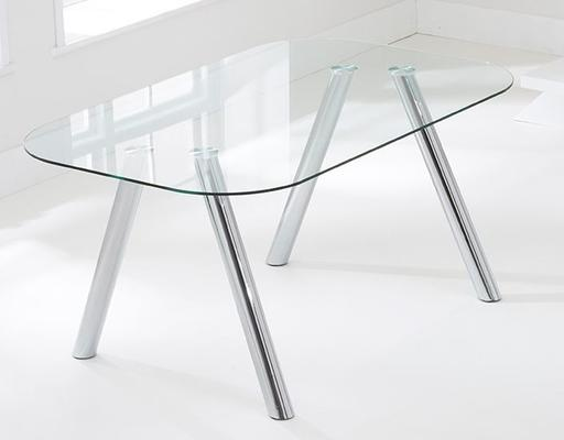 Pantheon glass dining table image 2