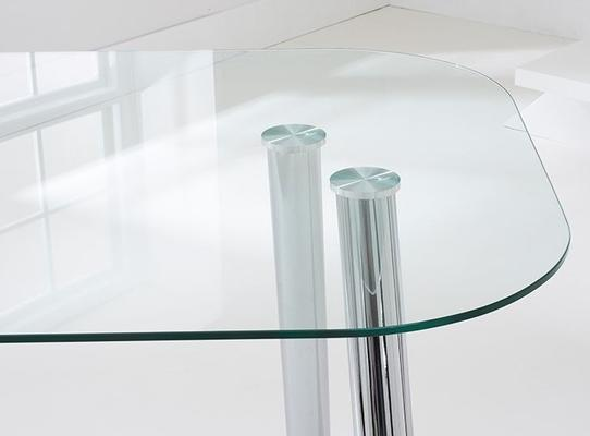 Pantheon glass dining table image 3