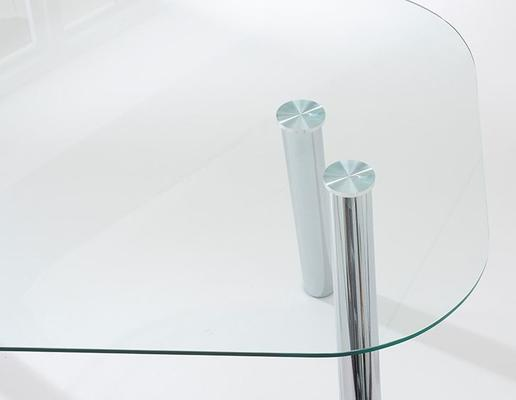 Pantheon glass dining table image 5