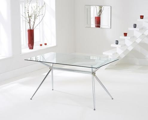 Salento glass dining table